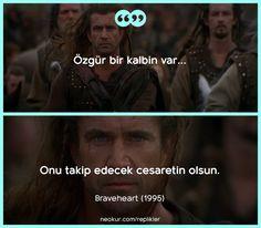 Yok bende o cesur yürek:)