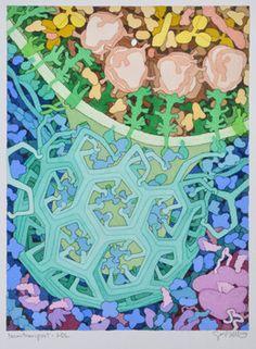 David Goodsell, 'Nanotransport LDL,' 2014, 333 Montezuma Arts