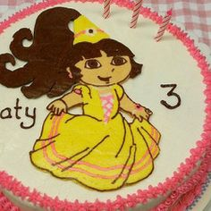 Cake Decorating using coloring book pages Tutorial: http://myhoneysplace.com/decorating-cakes-with-links-to-insructions/