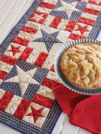 My Patriotic Table Runner Pattern from ShopFonsandPorter.com