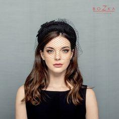 Gold Fascinator, Headpiece, Derby, Funeral Outfit, Metal Headbands, Black Headband, Wedding Hats, Bandeau, Bridal