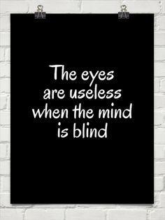 The eyes...