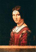 """New artwork for sale! - """" Leonardo Da Vinci - Portrait Of An Unknown Woman La Belle Ferroniere by Leonardo da Vinci """" - http://ift.tt/2lJbF6P"""