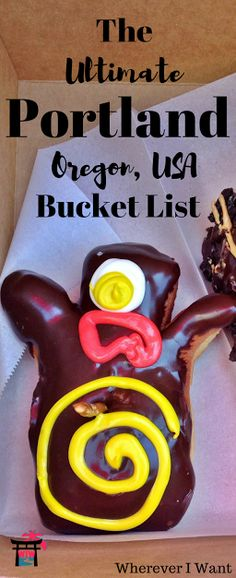 Traveling to Oregon? This is the Portland bucket list for you! Don't miss all these events, places, and foods/drinks unique to the city.