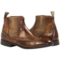 """Sarah Brown """"Moor"""" Wing Tip Dip Dyed Chelsea Boot from PaoloShoes.com"""