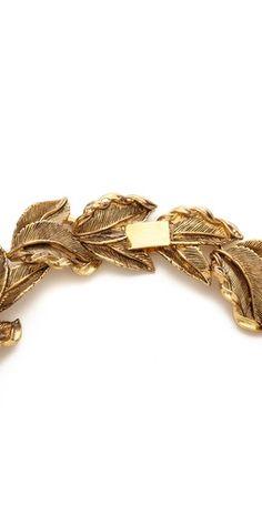 AERIN Erickson Beamon Leaf Wreath Necklace | SHOPBOP