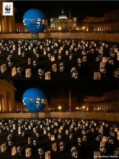 Earth Hour 2014, Vaticaan