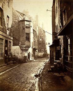 Cardinal Beaton's House, the Cowgate, Edinburgh 1868
