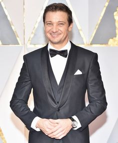 Jeremy Renner attends the 89th Annual Academy Awards at Hollywood & Highland Center on February 26, 2017 in Hollywood, California.