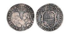 Shilling - Silver Mary I (1516-1558)