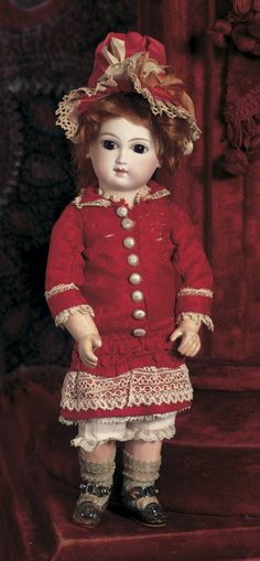 Pie in the Sky, Cow Over the Moon: 76 French Bisque Bebe by Jumeau, Size 1