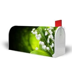 New original US Mail Box with pedestal and motive: Lily of the Valley: Amazon.co.uk: Kitchen & Home