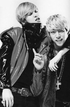 Zelo and Daehyun!!! ^^ My two biases from B.A.P