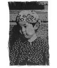 Kumi Yamashita - portraits completely detailed with thread. Kumi Yamashita, Street Portrait, Shadow Art, Thread Art, Japanese Artists, Western Art, Community Art, Human Body, Abstract Art