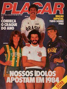 Revista Placar - 1984
