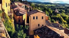 Nice Summer Day – Saturday's Free Daily Jigsaw Puzzle. I want to visit this place.