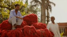 """Unravel - clothes recycled into thread- """"maybe the water is too expensive for them to wash them"""""""