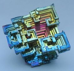 Bismuth crystals- so that's where the Borg came from!