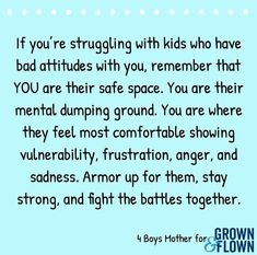 Parenting reminder Sometimes it can be hard to remember that your kids often don't understand their big emotions – and it's our job as parents to help them! Parenting Advice, Kids And Parenting, Parenting Classes, Parenting Styles, Gentle Parenting, Bad Parenting Quotes, Practical Parenting, Funny Parenting, Mom Quotes