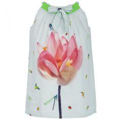 Anne Kurris Pale Green Flower Dress