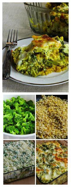 ) Curried Brown Rice and Broccoli Casserole with Creamy Curry Sauce ...