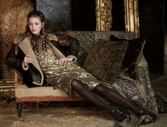 Kristina Romanova | Ralph Lauren F/W 2012