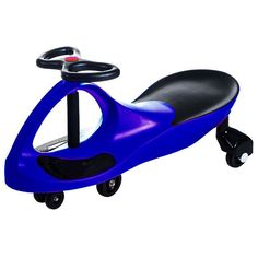 Ride on Toy, Ride on Wiggle Car by Lil Rider Ride on Toys for Boys and Girls, 2 Year Old and Up, (Blue)