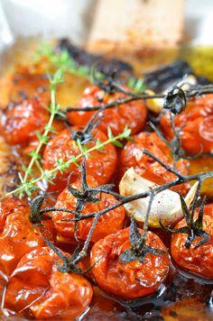 Tomates confites rôties au four recette