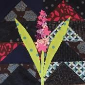 English Country Garden BOM - Hyacinth - via @Craftsy