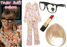 At the very least, this Taylor Swift costume gives you an excuse to buy some sweet heart-shaped glasses. And bust some unapologetically girly dance moves. Taylor Swift Halloween Costume, Taylor Swift Costume, Taylor Swift Party, Taylor Swift Birthday, All About Taylor Swift, Taylor Swift Concert, Taylor Swift Style, Pop Culture Halloween Costume, Halloween Costumes