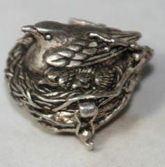silver Thimble Holder