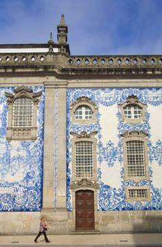 Capela das Almas, Porto, Portugal.