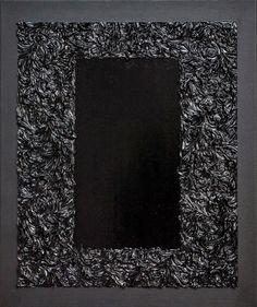 no title XI, oil, acryl, emalia on canvas, 50x60cm, 2015