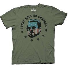 Big Lebowski I Dont Roll On Shabbas T-Shirt