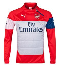 Arsenal Padded Training Top Red Arsenal London Official Merchandise  Available at www.itsmatchday.com 0d7e324fe