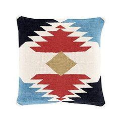 Chic Designs Aztek Cotton Kilim Decorative Pillow