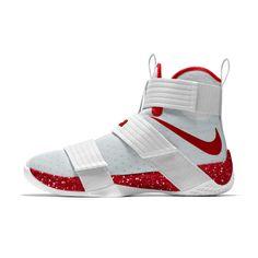 basketball shoe Nike Zoom LeBron Soldier 10 iD Men - shoetrend Girls Basketball Shoes, Men's Basketball, Zapatillas Nike Basketball, Soldier 10, Ankle Sneakers, Dior Shoes, Lebron 16, Lebron James, Fresh Shoes