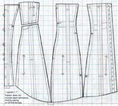 steampunk corset pattern free | of information on making your bustle era ladys corset corset