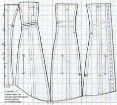steampunk corset pattern free | of information on making your bustle era ladys corset corset