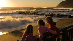 #children #wave watching #making memories #future surfers #beautiful colors #peaceful setting