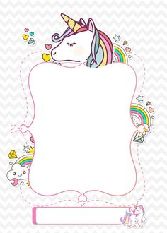 Birthday Diy, Unicorn Birthday Parties, Unicorn Party, Little Unicorn, Little Pony, Unicorn Wallpaper Cute, Unicornios Wallpaper, Unicorn Birthday Invitations, Cinderella Invitations