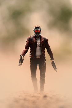 Star-Lord Arrives - Cyril Mallet Star Lord, Marvel Cinematic Universe, Samurai, Stars, Sterne, Samurai Warrior