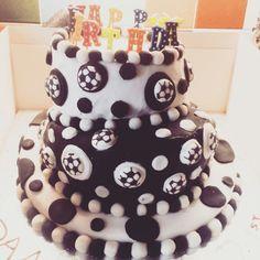 Friends 21st birthday cake.
