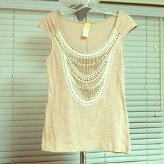 Anthropologie top Only worn once. Anthropologie Tops