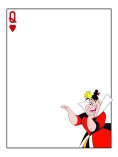 Journal Card - Queen of Hearts - Queen - Alice in Wonderland - 3x4 photo: A…