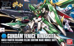 HGBF 1/144 Gundam Fenice Rinascita: UPDATE MANY Official Images, Box Art, Promo Posters, Info http://www.gunjap.net/site/?p=201329
