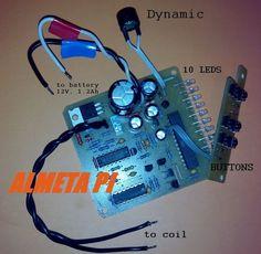 Russian pulse induction DIY metal detector ALMETA PI deep search #Almeta
