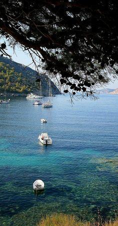 Assos ~ Kefalonia Island, Greece Greece Vacation, Greece Travel, Italy Travel, Places In Greece, Greece Islands, Beautiful Islands, Places To See, Travel Inspiration, Beautiful Pictures