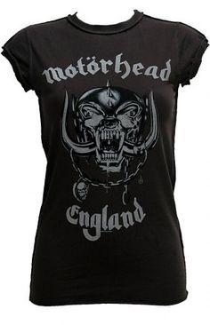 Motörhead tee. As Beavis and Butthead once said, Lemmy rules!