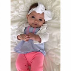 Baby Girl | Bow | Baby Fashion